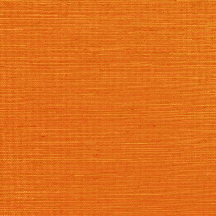 Marin Weave CL Tangerine Double Roll of Wallpaper by Ralph Lauren