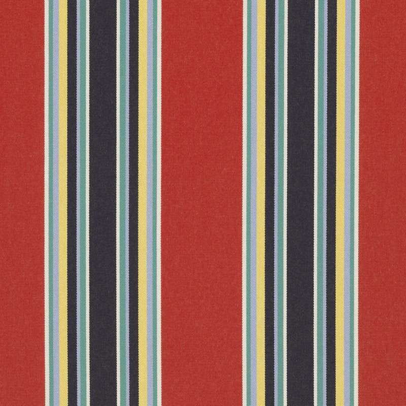 Northport Stripe CL Blaze Sunbrella Outdoor Upholstery Fabric by Ralph Lauren