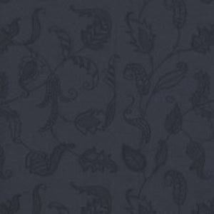 Opal Coast Embroidery CL Navy Drapery Fabric by Ralph Lauren
