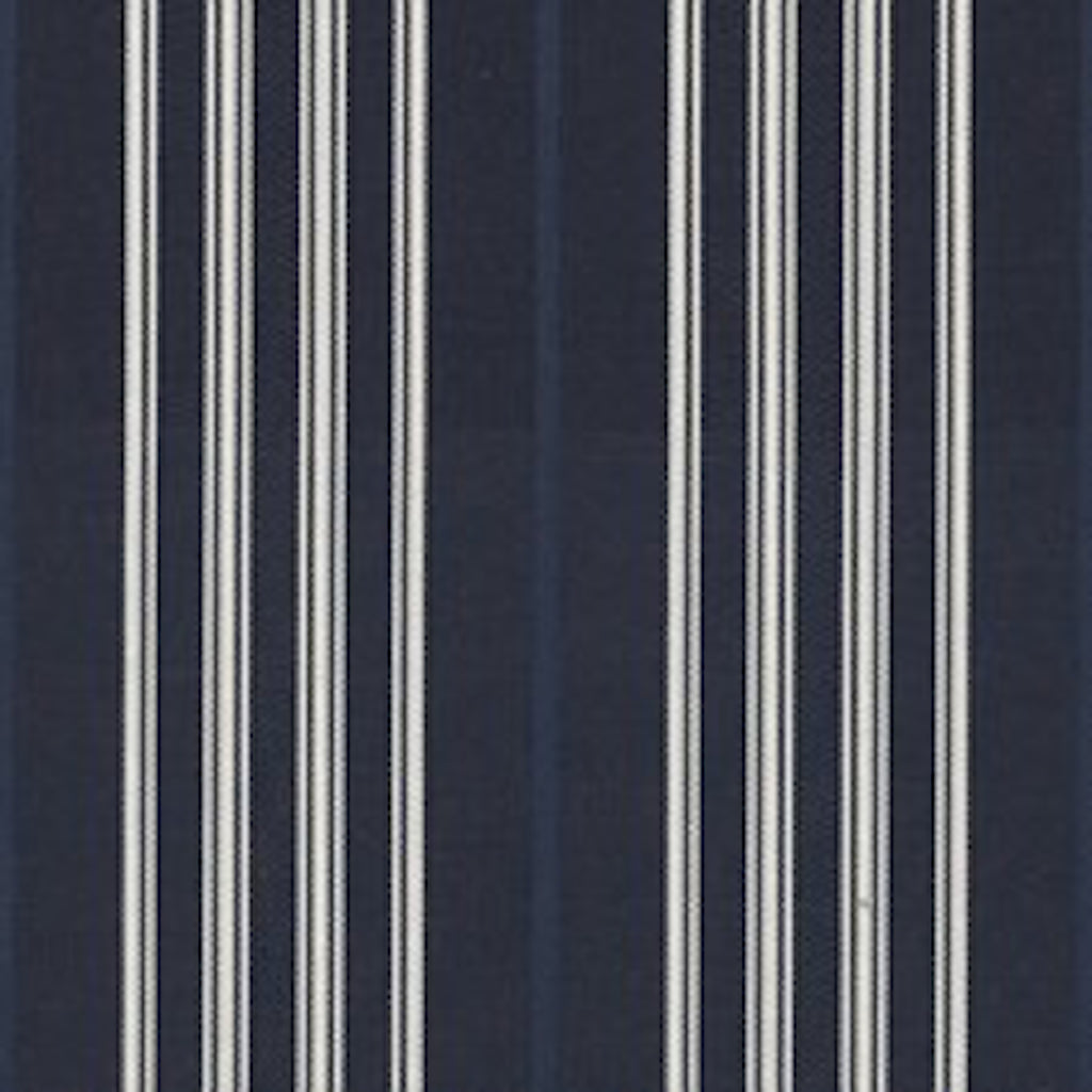 Palatine Silk Stripe CL Midnight Upholstery Fabric by Ralph Lauren