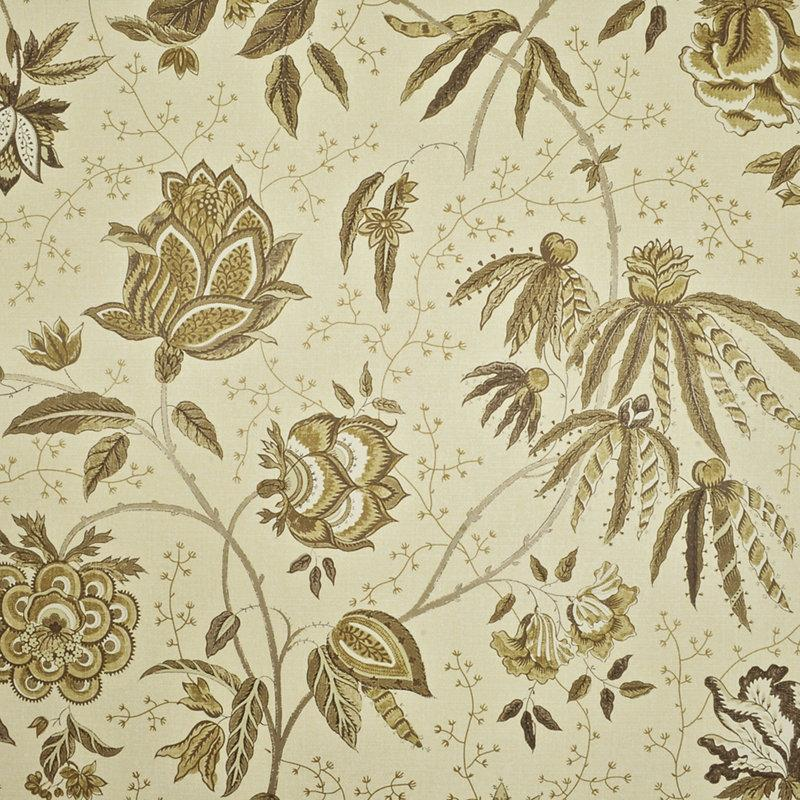 Pillar Point Floral CL Twig Double Roll of Wallpaper by Ralph Lauren