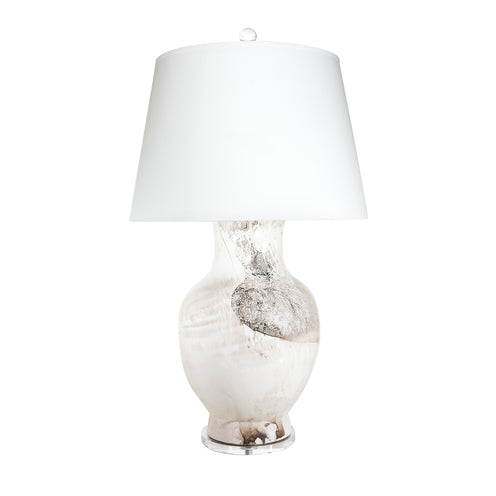 Bianca Table Lamp CL Palladium by Curated Kravet