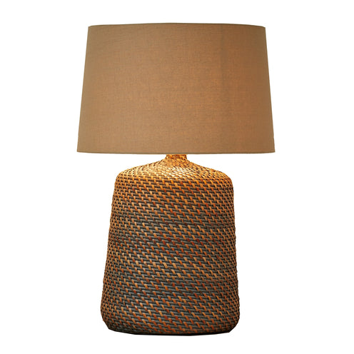 Vati Table Lamp CL Gray by Curated Kravet