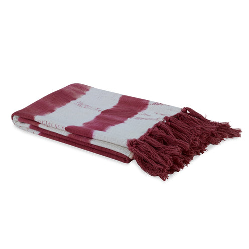 Sunset Cotton Throw  CL Blush by Curated Kravet