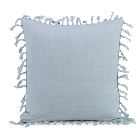 Zoysia  Pillow CL GrayBlue by Curated Kravet