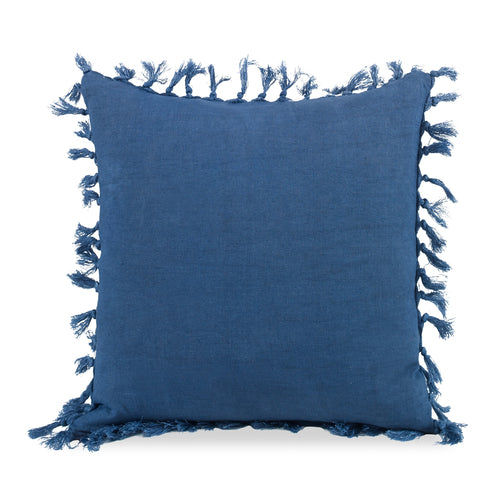 Zoysia  Pillow CL Navy by Curated Kravet