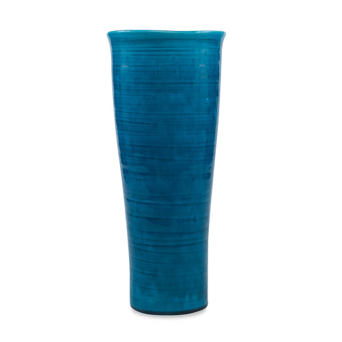 Jonathan Vase CL React Blue by Curated Kravet