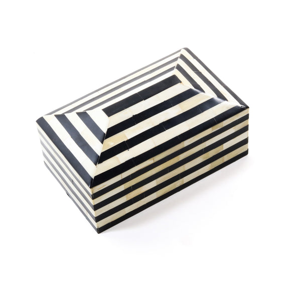 James Box CL Ivory - Black by Curated Kravet