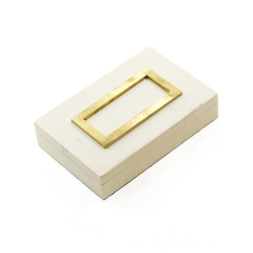 Edith Box CL Ivory  by Curated Kravet