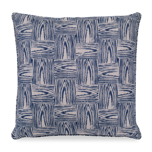 Timberline Pillow CL Navy by Curated Kravet