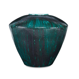Moshier Vase CL Peacock by Curated Kravet