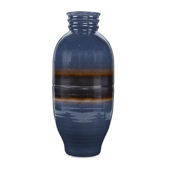 Bruin Vase CL Lapis Gray by Curated Kravet