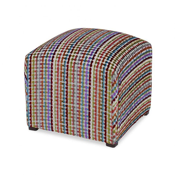 Siobhan Ottoman, Multi by Curated Kravet