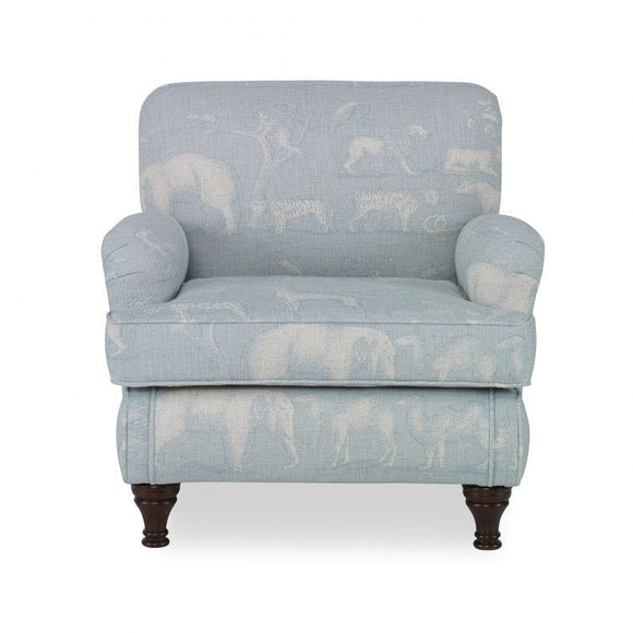 Senna Kids Chair CL Powder by Curated Kravet