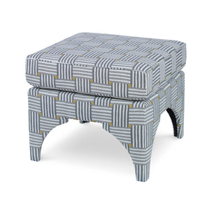 Marcia Ottoman, Over Under CL Slate by Curated Kravet