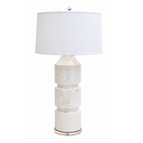 Milan Table Lamp CL Palladium by Curated Kravet