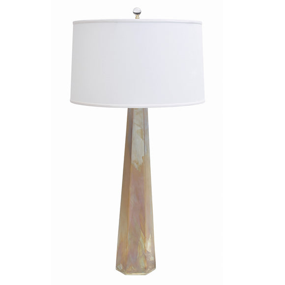 Luxor Table Lamp CL Golden Raku by Curated Kravet