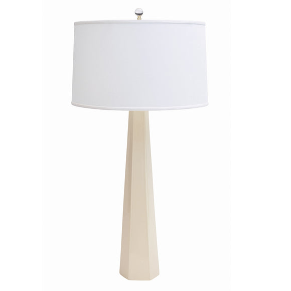Luxor Table Lamp CL Ivory by Curated Kravet