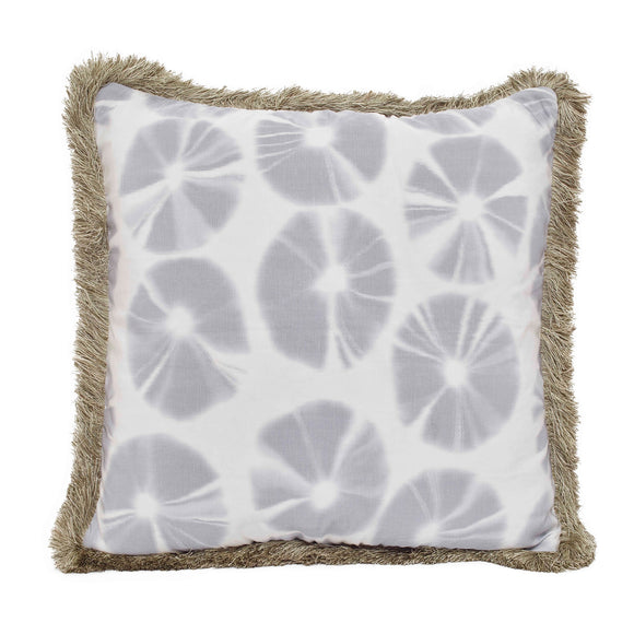 Echino Pillow CL Fog by Curated Kravet