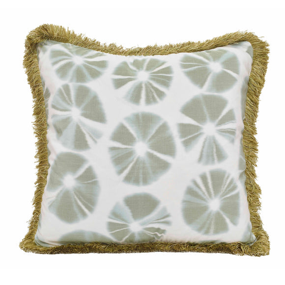 Echino Pillow CL Palm by Curated Kravet