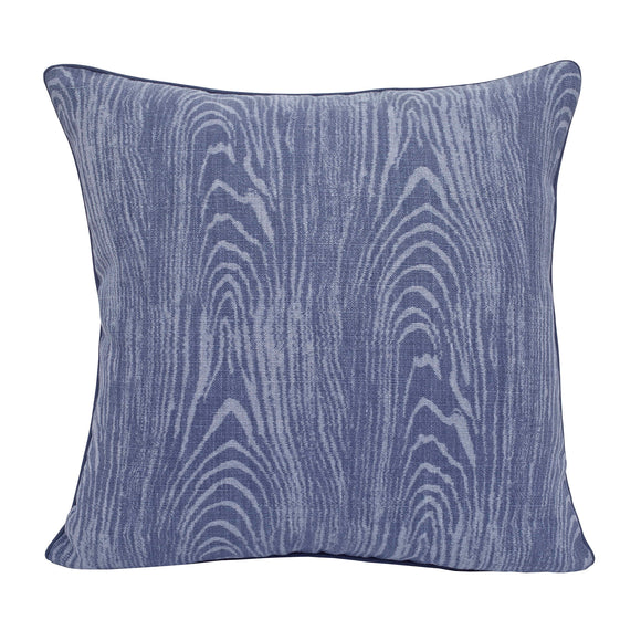 Hallerbos Pillow CL Indigo by Curated Kravet