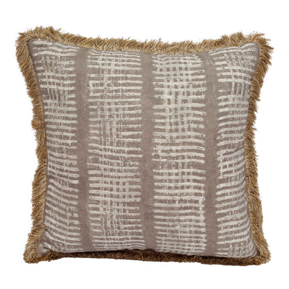 New Lines Pillow CL Fawn by Curated Kravet