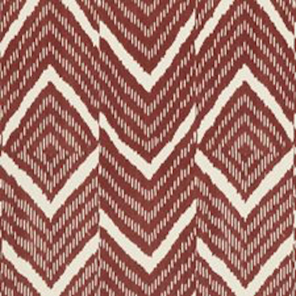 Rimba Ikat CL Madder Drapery Upholstery Fabric by Ralph Lauren