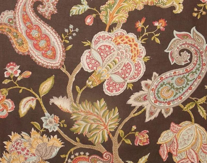 Sonnet CL Ladybug Drapery Upholstery Fabric by P Kaufmann