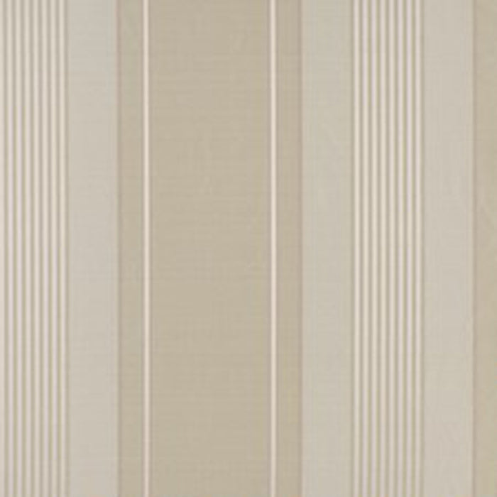 Sterling Stripe CL Mother of Pearl Drapery Upholstery Fabric by Ralph Lauren