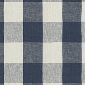 Stone Hill Gingham CL Indigo Drapery Upholstery Fabric by Ralph Lauren