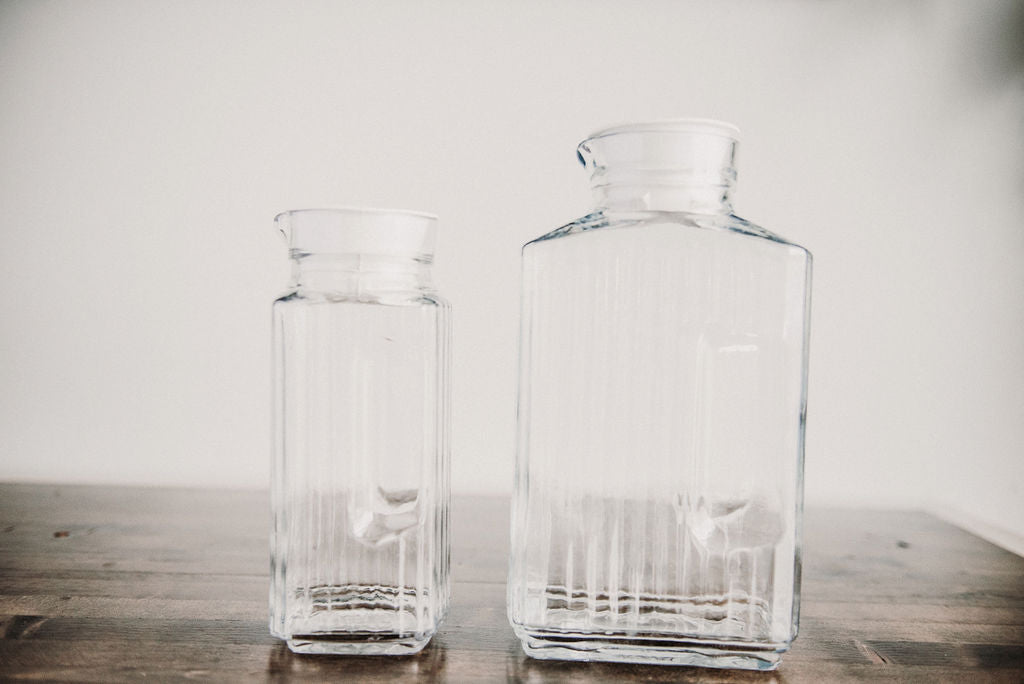 Glass Pitcher Set
