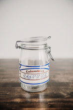 Columbian Coffee Jar
