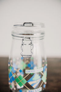 Country Estate Pecan Jar