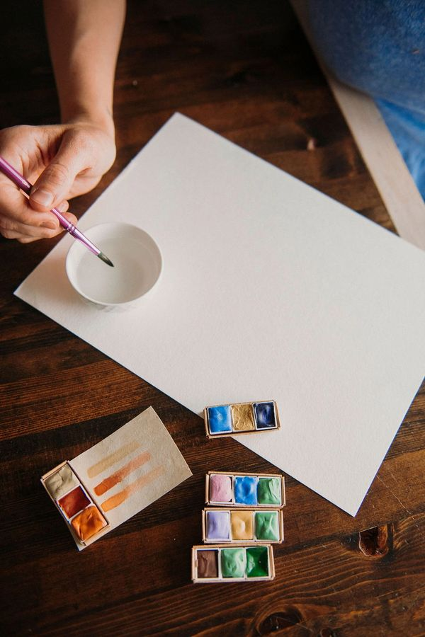 Natural Watercolor Paints