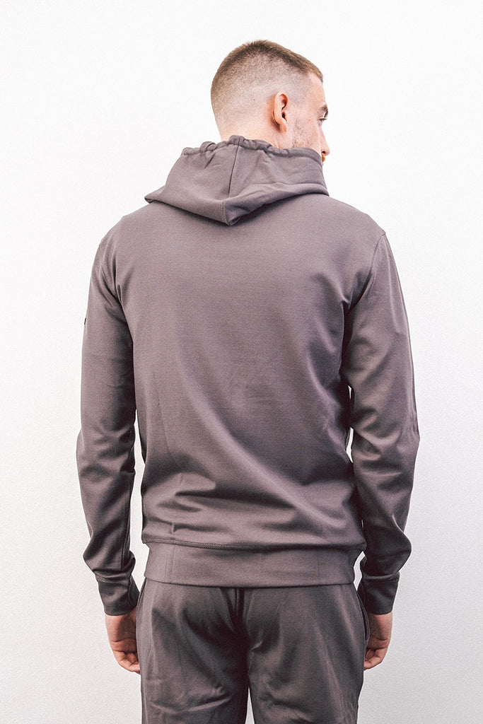 Anthracite Set Hooded Top