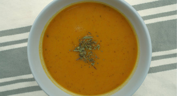 Creamy Carrot Soup Recipe | Maine Coast Sea Vegetables