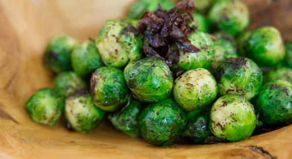 Dulse Brussels Sprouts Recipe | Maine Coast Sea Vegetables