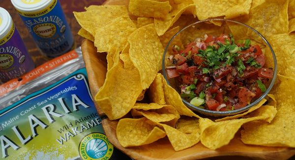 Fresh Salsa with Alaria Recipe | Maine Coast Sea Vegetables