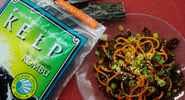 Maine Seaweed Salad | Maine Coast Sea Vegetables