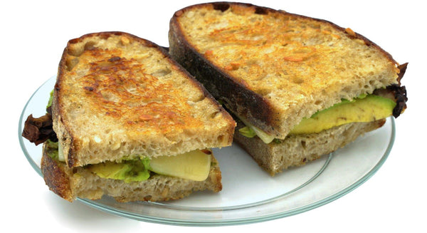 Smoked Dulse-Avocado Grilled-Cheese Sandwich Recipe