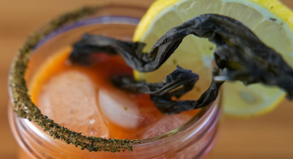 Spicy Kelp Bloody Mary Recipe | Maine Coast Sea Vegetables
