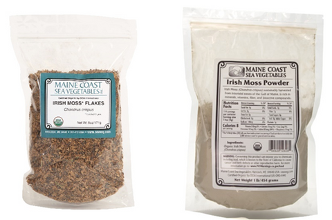 Maine coast sea vegetables irish moss products
