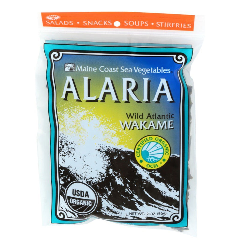 "Alaria Whole Leaf 2 oz Bag - ""Wild Atlantic Wakame"" - Organic Default Title - Maine Coast Sea Vegetables"