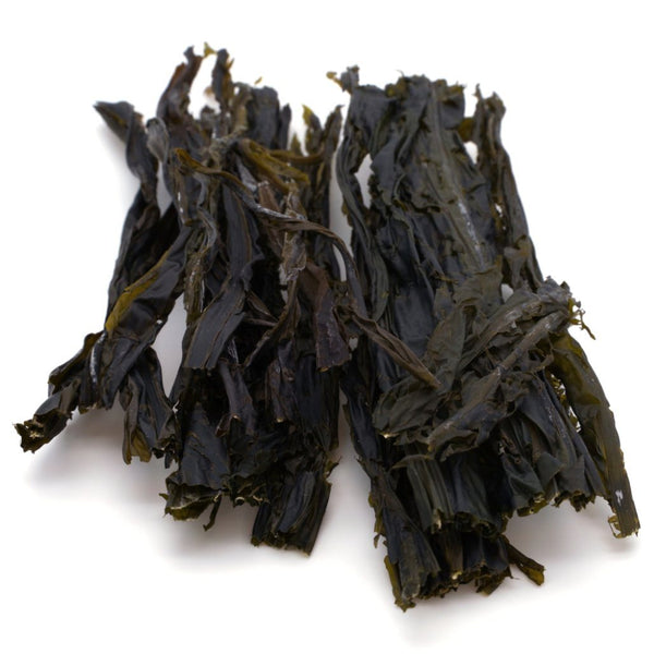 "Alaria Whole Leaf - ""Wild Atlantic Wakame"" - Organic SAMPLE - Maine Coast Sea Vegetables"