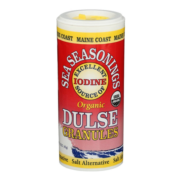 Dulse Granules - Wild Atlantic - Sea Seasonings Shaker - Organic Default Title - Maine Coast Sea Vegetables