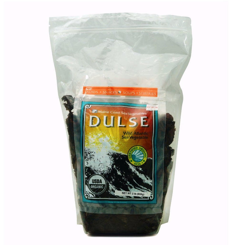 Dulse Whole Leaf - Wild Atlantic - Organic 2 LBS - Maine Coast Sea Vegetables