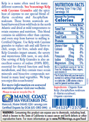 Kelp Granules Blend with Cayenne - Sea Seasonings Shaker - Organic Default Title - Maine Coast Sea Vegetables