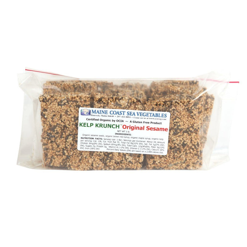Kelp Krunch™ Original Sesame - Organic 1 LB - Maine Coast Sea Vegetables
