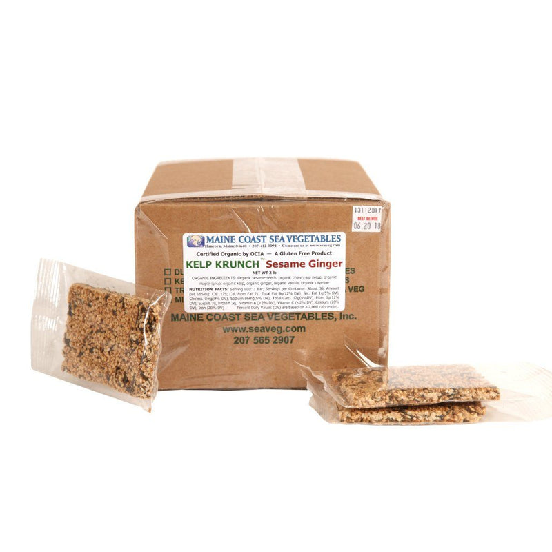 Kelp Krunch™ Sesame Ginger - Organic 2 LBS - Maine Coast Sea Vegetables