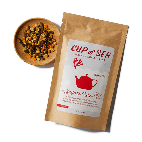 Sailor's Cure-All Seaweed Tea with Bladderwrack 2 oz Bag - Cup of Sea - Cup of Sea
